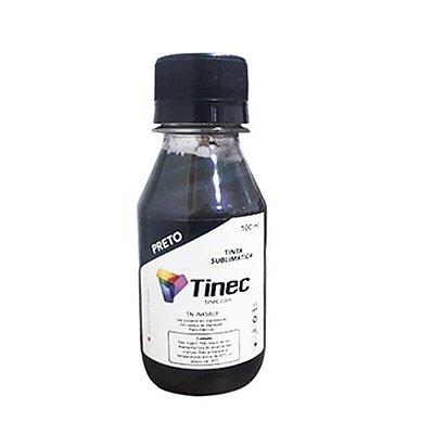 TINTA SUBLIMÁTICA TINEC 100ml - BLACK