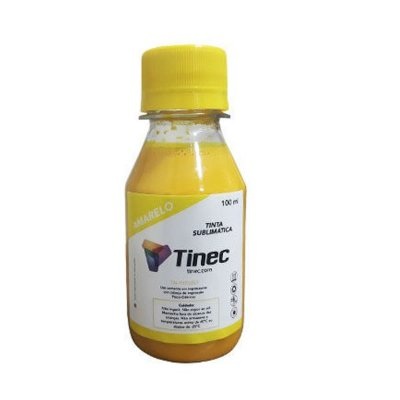 TINTA SUBLIMÁTICA TINEC 100ml - YELLOW