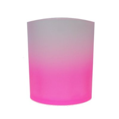COPO DE WHISKY JATEADO 300ml - ROSA PINK