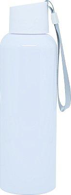 Squeezer Branca Plástico 500ml com Cordão - BRANCA