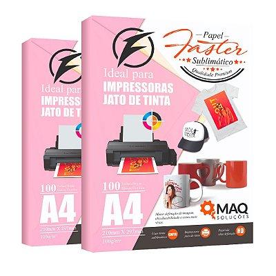 Papel Faster Premium A4 - SUBLIMÁTICO