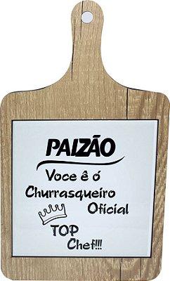 TABUA DE CHURRASCO SUPORTE AZULEJO - 20X20