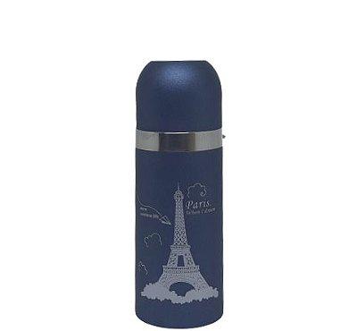 Garrafa Térmica 350ML azul marinho (PARIS)