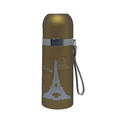 Garrafa Térmica 350ML dourada (PARIS)
