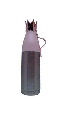 Garrafa Inox Rosé c/ Coroa - 350ml