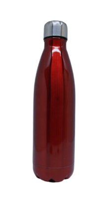 Garrafa Aluminio Vermelha - 500ml