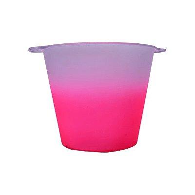 Balde Para Gelo 5l Jateado - Rosa Pink