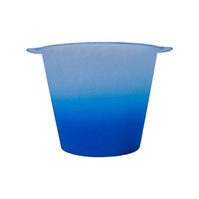 Balde de Gelo 5L Jateado - Azul