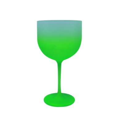 Taça de GIn 500ml - Jateada Verde