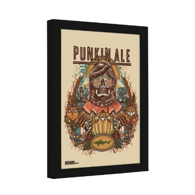 Quadro Decorativo Dogfish Head Craft Brewery Punkin Ale