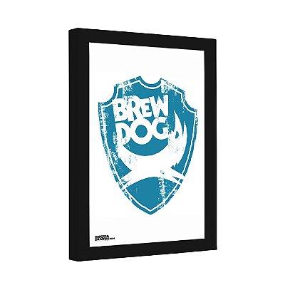Quadro Decorativo Cerveja Brew Dog