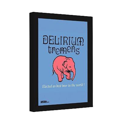 Quadro Decorativo Cerveja Delirium Tremens