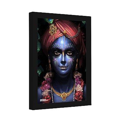 Quadro Decorativo Face Indiana