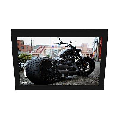 Quadro Decorativo Moto Harley Davidson Esportiva