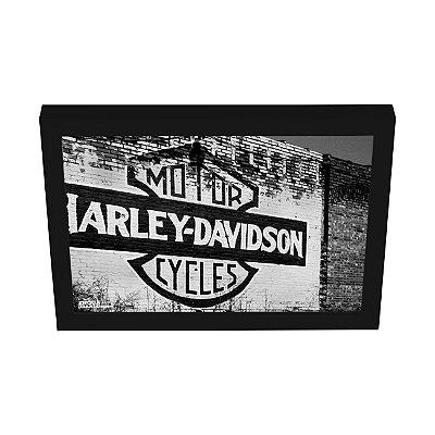 Quadro Decorativo Moto Harley Davidson Parede & Pintura