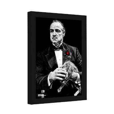 Quadro Decorativo Don Vito Corleone: O Poderoso Chefão