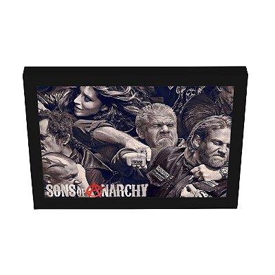 Quadro Decorativo Família Sons of Anarchy