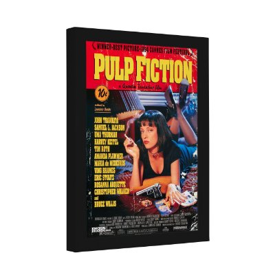 Quadro Decorativo Pulp Fiction Cartaz