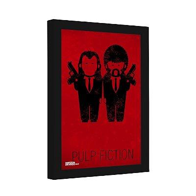 Quadro Decorativo Pulp Fiction Desenho