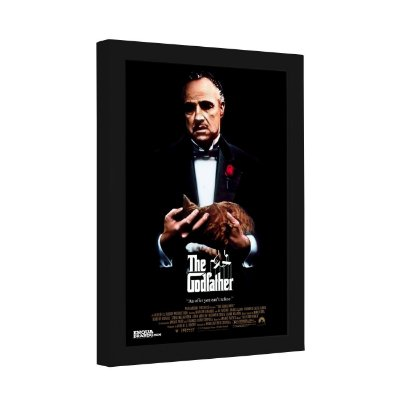 Quadro Decorativo The Godfather Cartaz