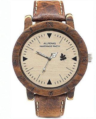 Relógio Sport Wood Marfim
