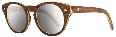 Óculos Mia Espelhado Prata