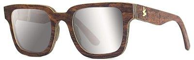 Óculos Vince Espelhado Prata