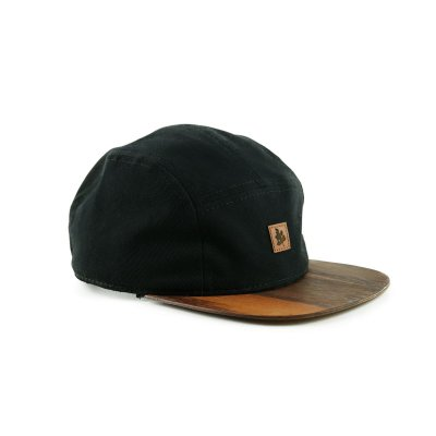 BONÉ FIVE PANEL BLACK