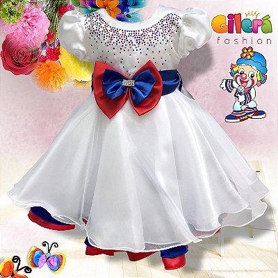 Vestido Infantil de Festa Tema Patati Patatá