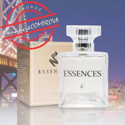 Essences 41 Inspirado em 212 Vip Men - 100ml