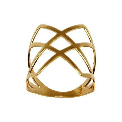 Anel Ouro Amarelo 18k - cod.13958