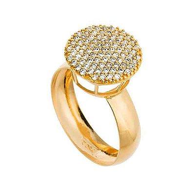 Anel Chuveiro Ouro 18k com Pedras Zircônias - cod.11934 8b7f52988d