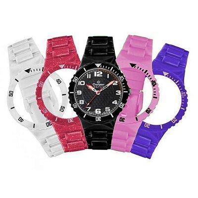 9e4ce2aa2a7 Relógio Champion Infantil Cp38086x Kit 5 Pulseiras Sortidas