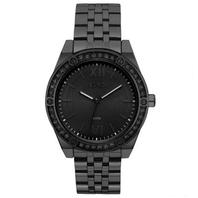 f12253b18f64f Relógio Euro Feminino Preto Analógico Eu2035ynq 4p