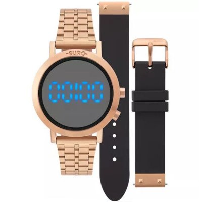 a2227f94c6fb8 Relógio Euro Feminino Eubj3407ac t4p
