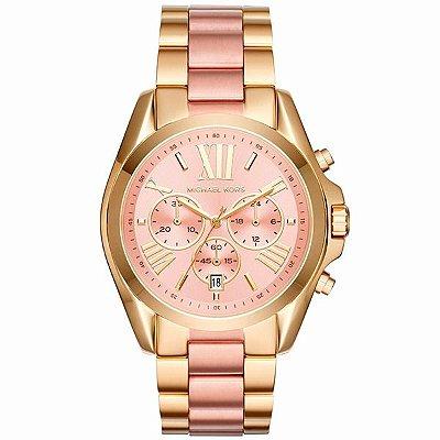 Relógio Michael Kors Feminino Dourado Rosê Mk6359 5tn 0beecac88a