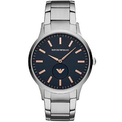 Relógio Empório Armani Masculino Prata Ar11164 1kn - Retran Joias f34a9ef1f0