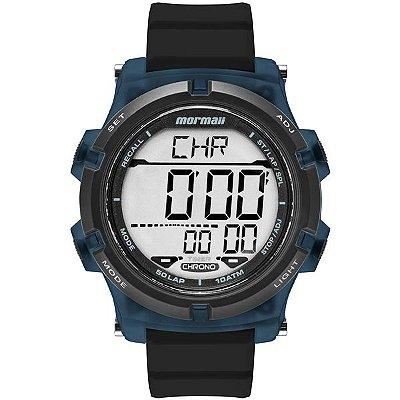 2574da654dd Relógio Mormaii Infantil Digital Preto Azul Mo0200 8a - Retran Joias