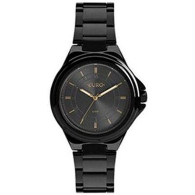 edd53d19b9379 Relógio Euro Feminino Preto Eu2035ydp 4f