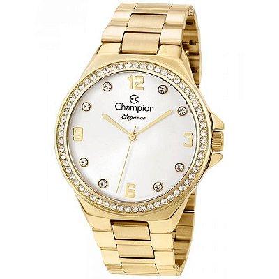 1cf689eccde Relógio Champion Feminino Dourado Cn25725h