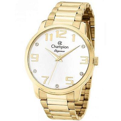 567522b0c92 Relógio Champion Feminino Dourado Fosco Cn28437h - Retran Joias