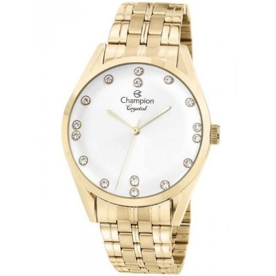 8adebc62aa5 Relógio Champion Feminino Dourado Cn25547h