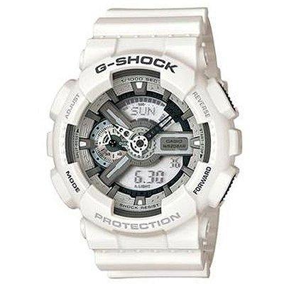 e253506bc4a Relógio Casio Masculino G-Shock Branco Ga110c7adru
