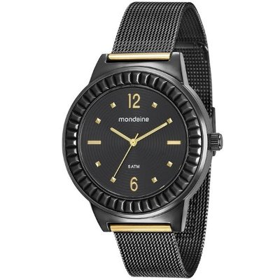 1bcb7e7869b Relógio Mondaine Feminino Casual Preto 89001lpmvhe5 - Retran Joias