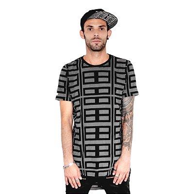 Camiseta Longline Modular Fabio Fusco