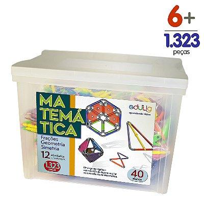Brinquedo Educativo Edulig Matemática 40 alunos - com Manual do Professor