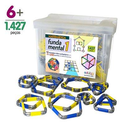 Brinquedo Educativo Edulig Matemática Fundamental 1 – 12 atividades e + de 200 exercícios