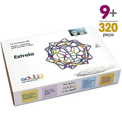 Quebra-cabeça Edulig Puzzle 3D Estrela