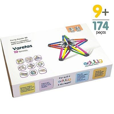 Quebra-cabeça Edulig Puzzle 3D Varetas