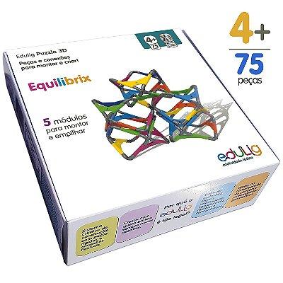 Quebra-cabeça Edulig Puzzle 3D Equilibrix